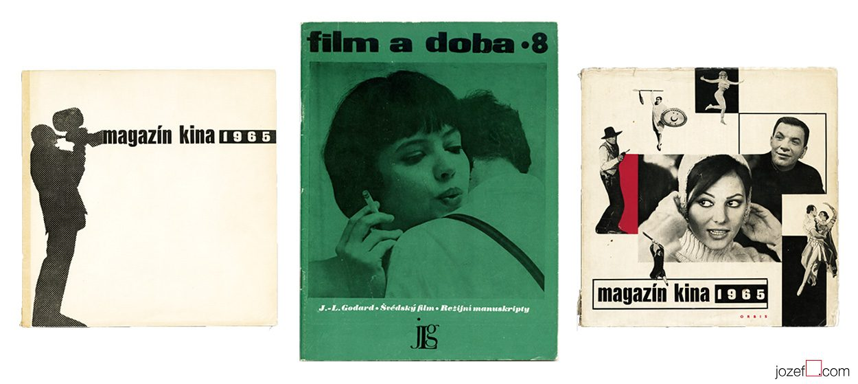 Cinema Magazines from Sixties. Cinema Art.