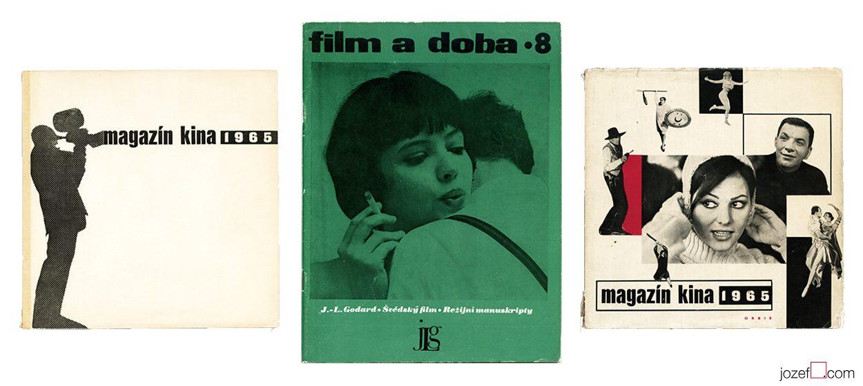 Cinema Magazines from Sixties. Cinema Art.