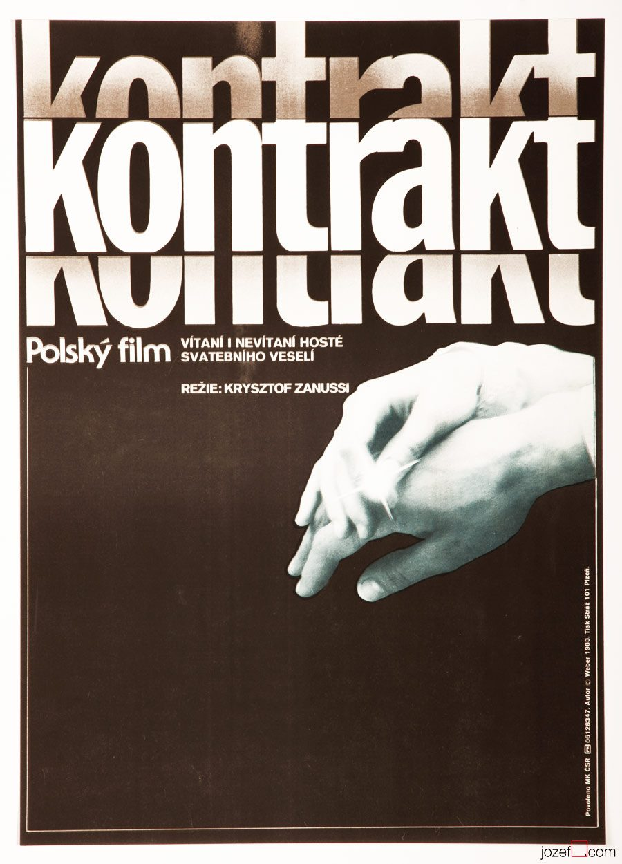 The Contract Movie Poster, Krzysztof Zanussi
