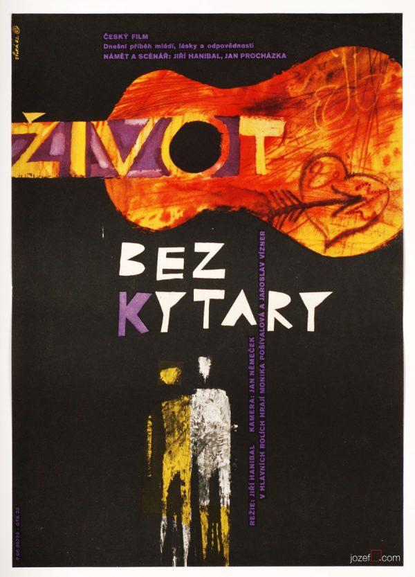 Life Without a Guitar, Jaroslav Sura Poster Art
