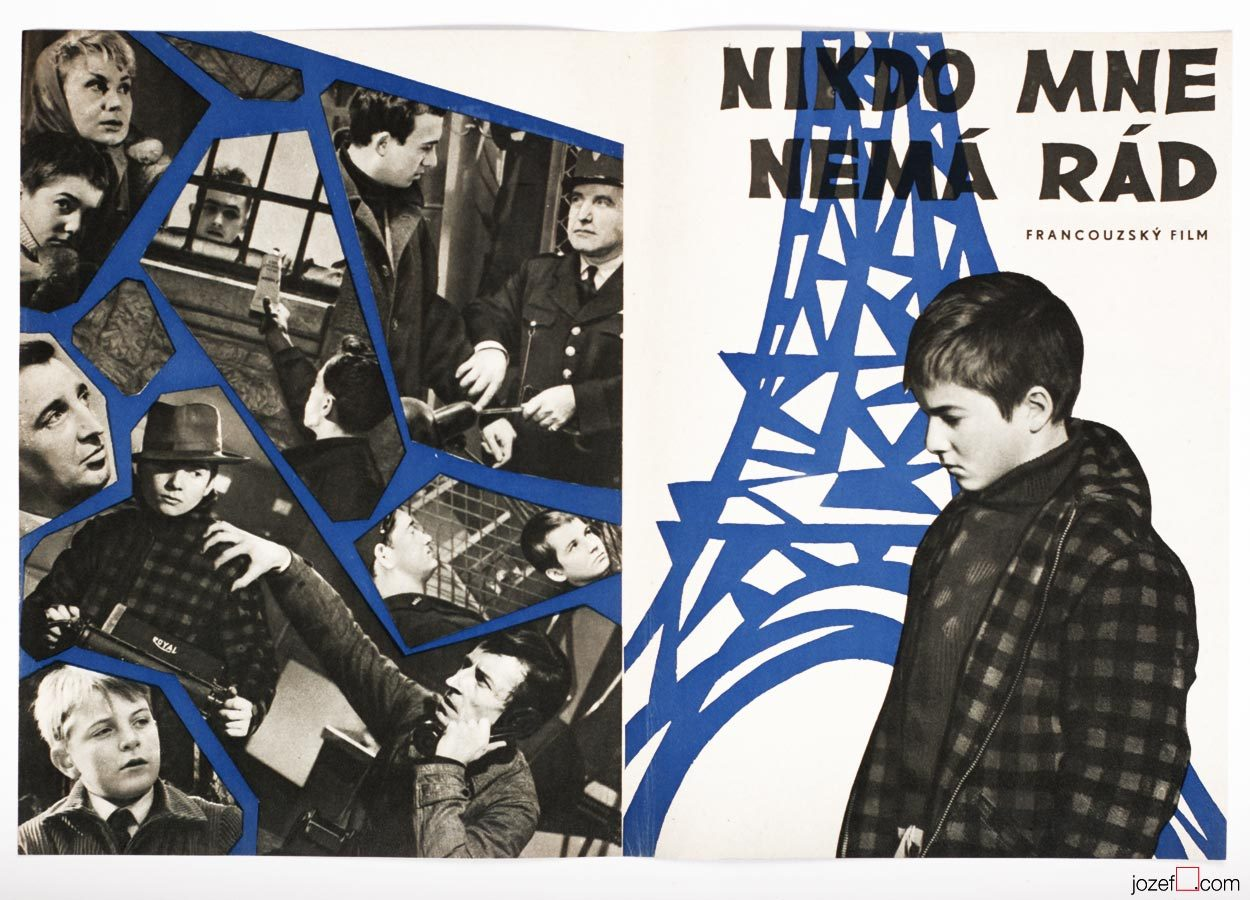 Film posters came along with catalogue, The 400 Blows