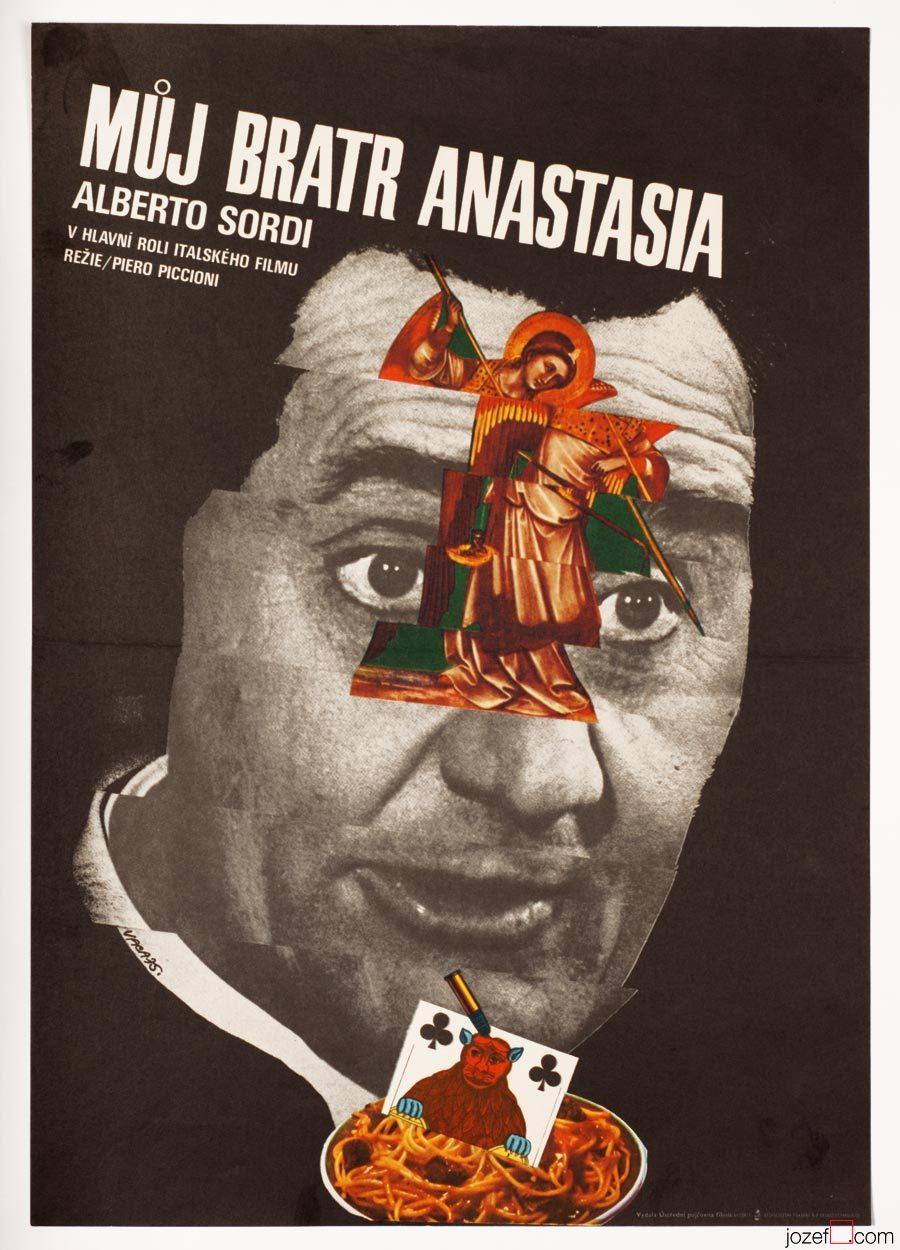 Movie Poster, My Brother Anastasia, Karel Vaca