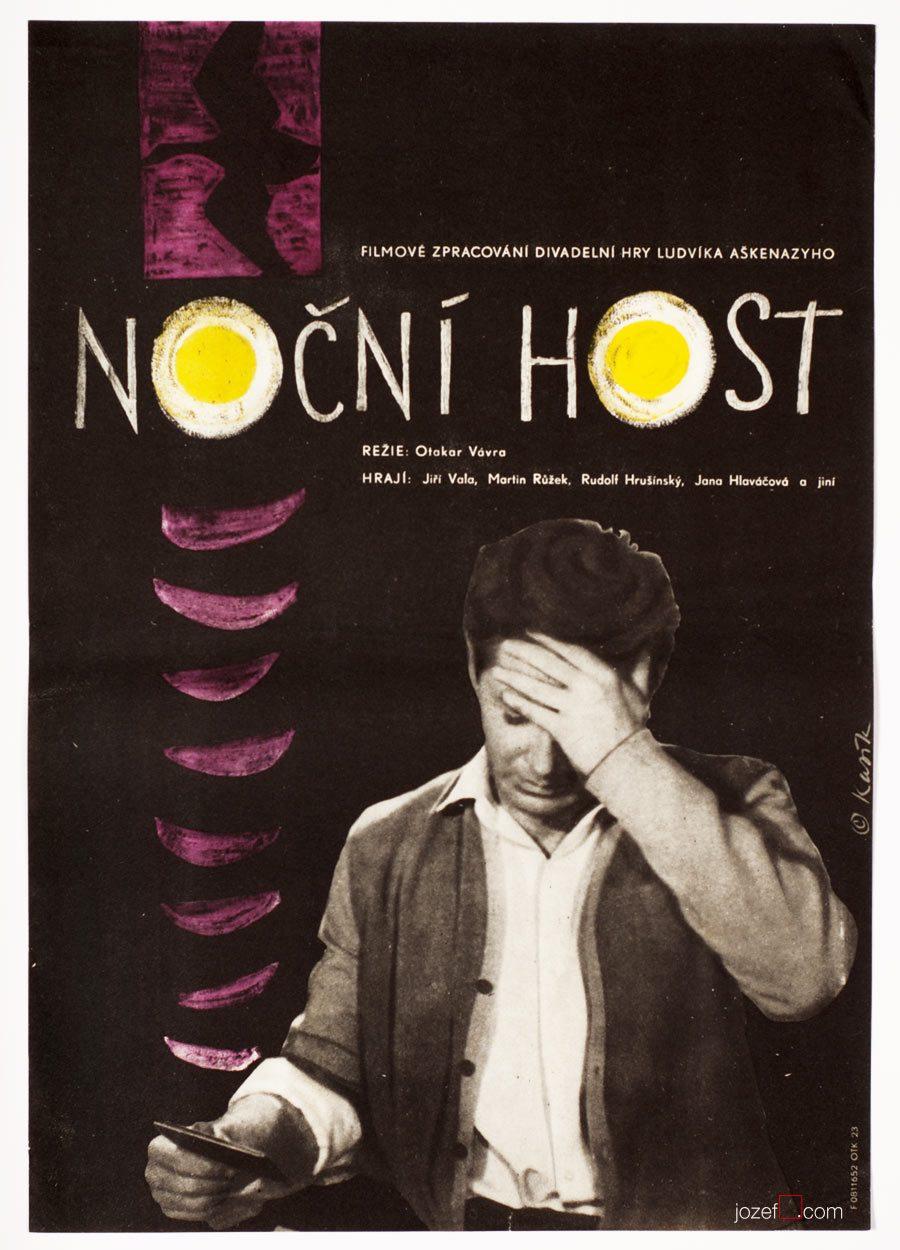 Film Poster, Night Guest, Vaclav Kasik