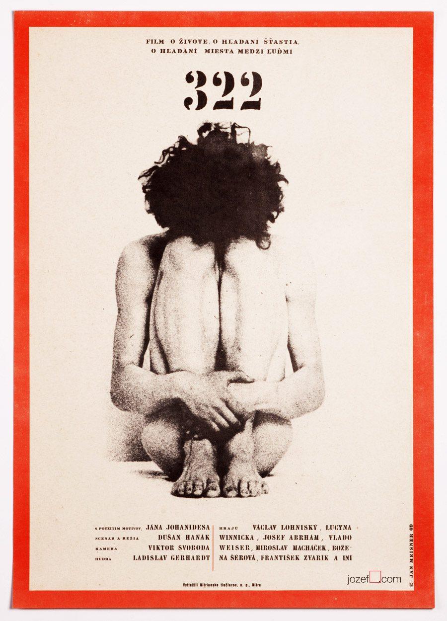 Poster art by Jan Meisner, 60s poster