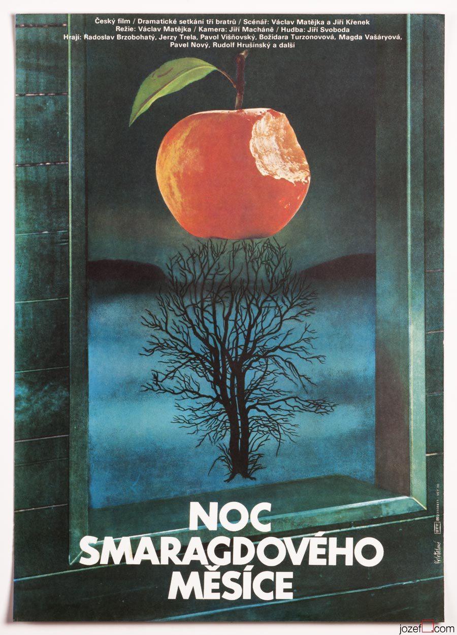 Movie Poster, Olga Poláčková-Vyleťalová, Surreal Poster