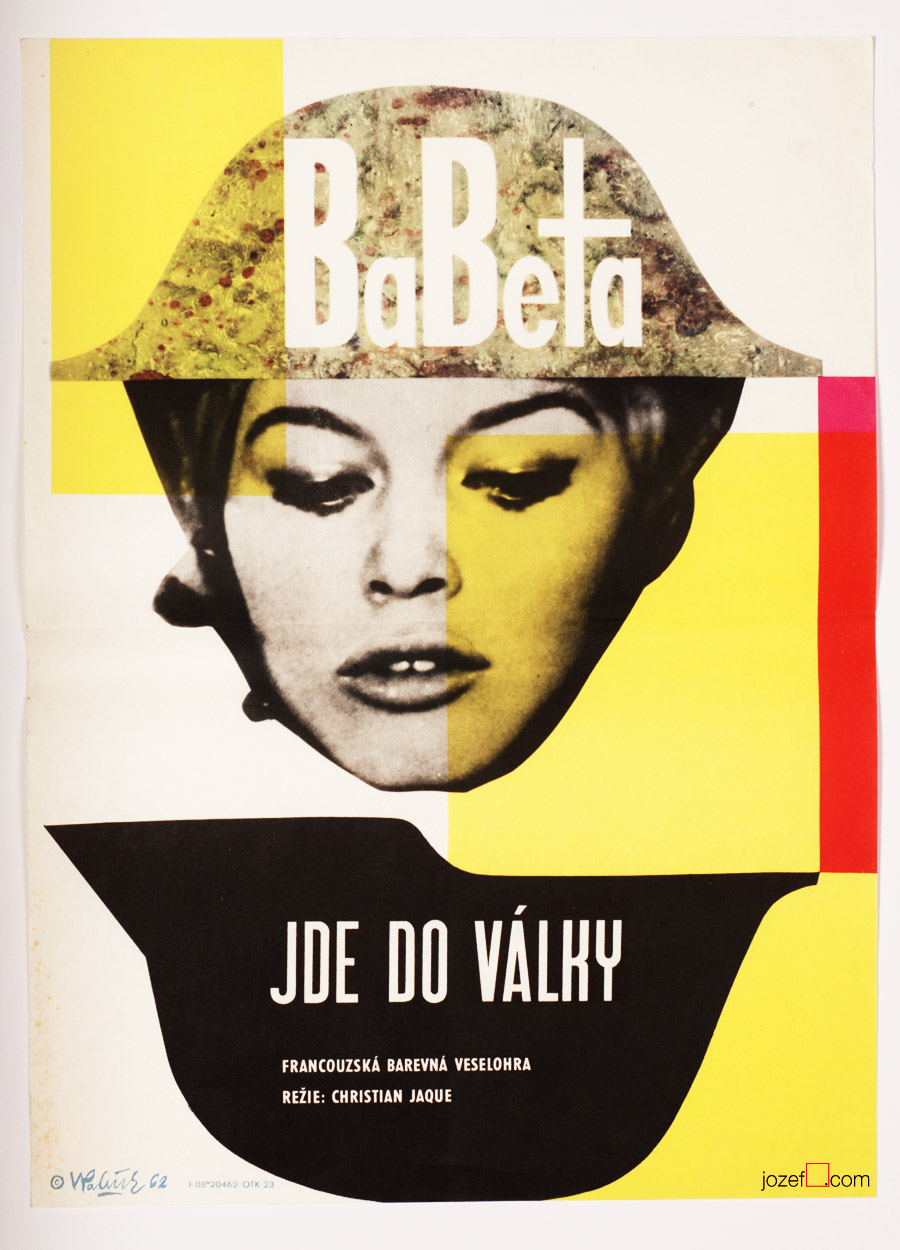 Babette Goes to War, 1960s poster art