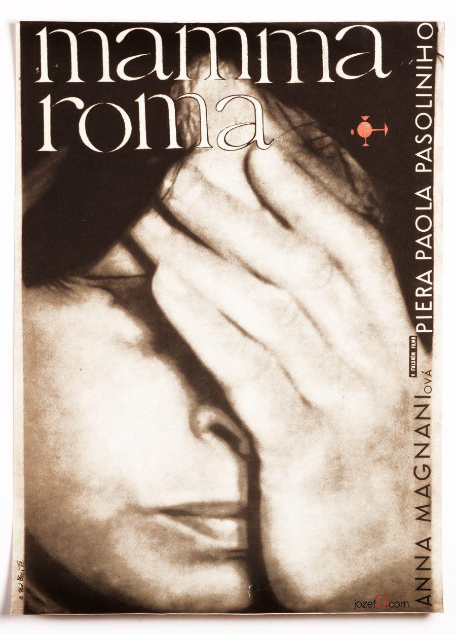 Mamma Roma , Pier Paolo Pasolini, Poster art, 1963