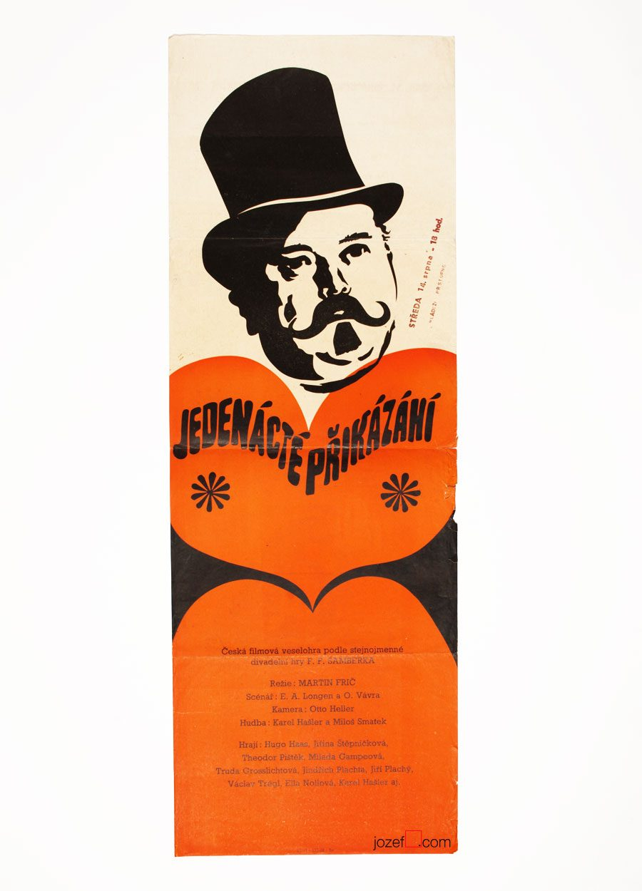 Vintage Poster, The Eleventh Commandment, 30s Cinema Art