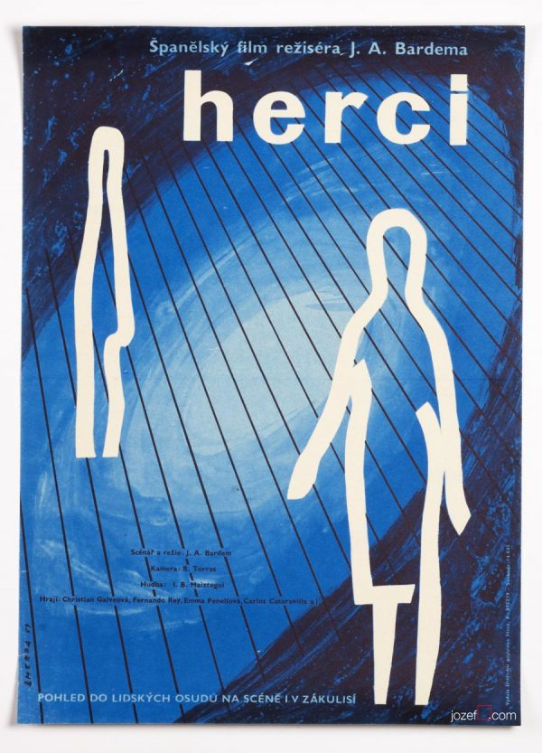 50s Poster Art, Comedians, Abstract Minimalist Poster