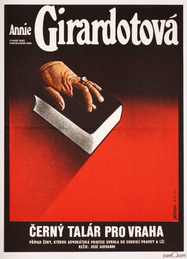 Film Poster, Une robe noire pour un tueur, Poster by Zdeněk Vlach