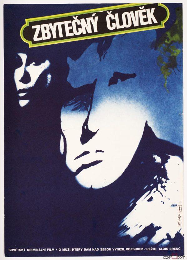 Minimalist Movie Poster, To be Superfluous, Zdeněk Vlach