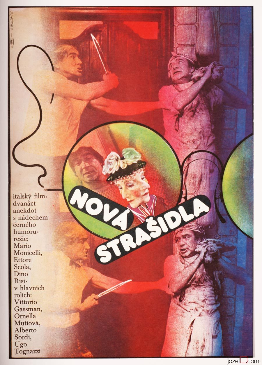 Viva Italia Movie Poster, Zdenek Ziegler