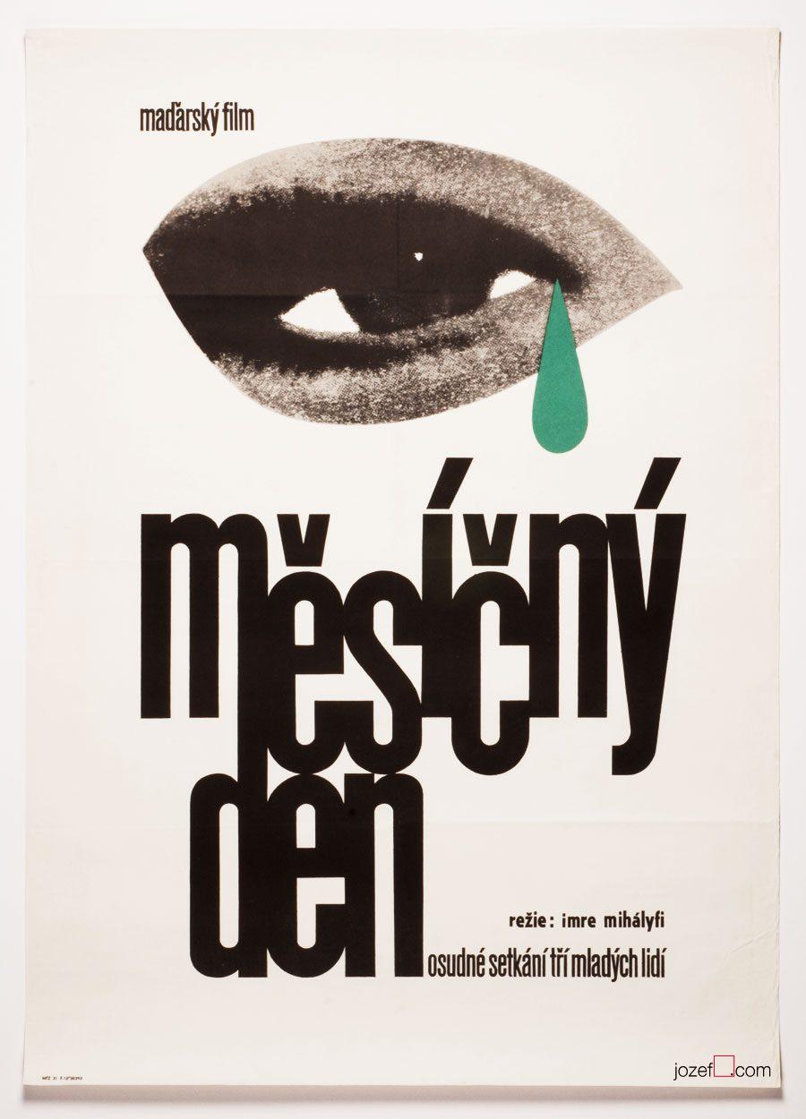 Minimalist movie poster, Roads, Hungarian cinema