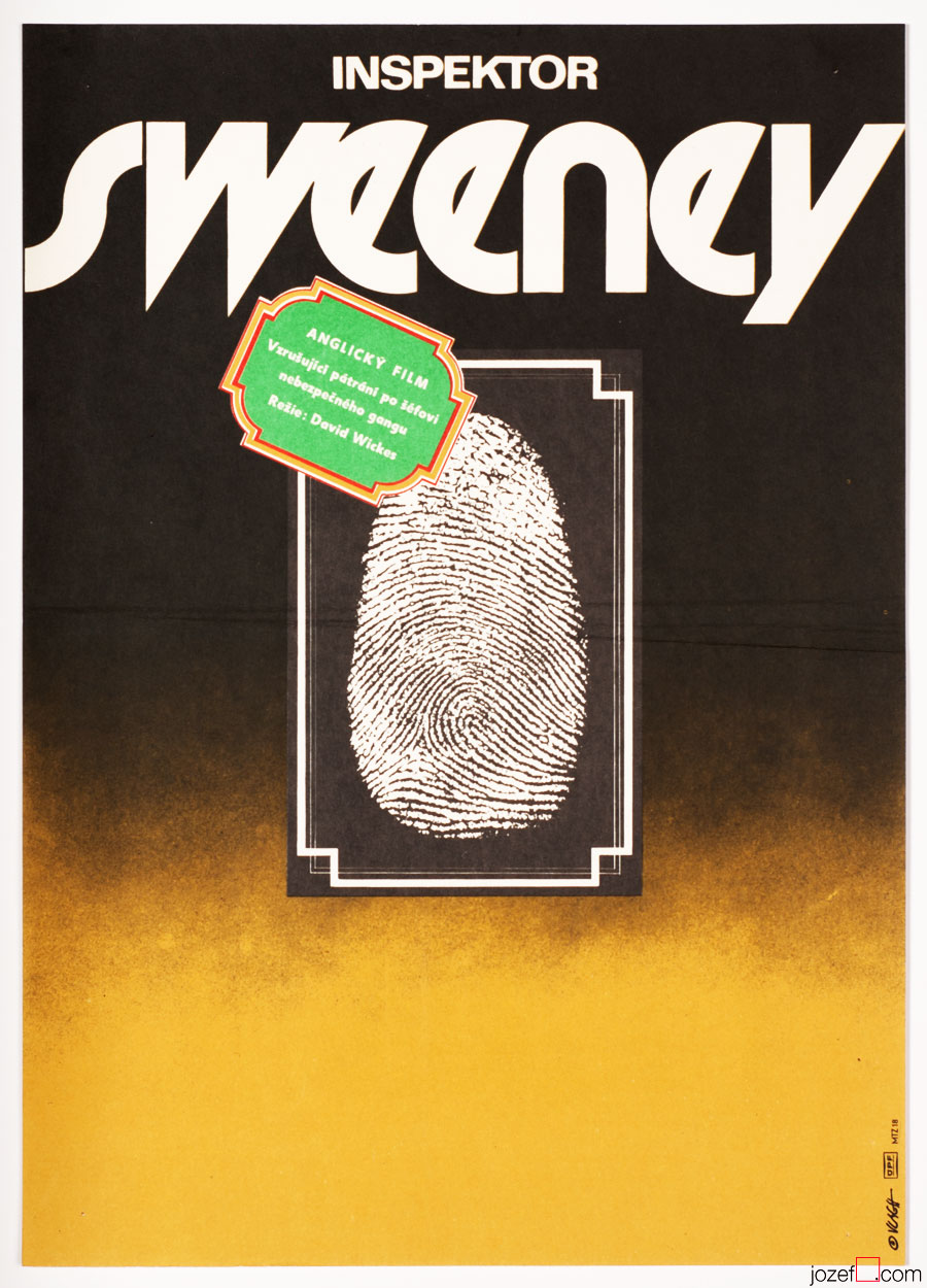Vintage Movie Poster, Sweeney, 70s Posters Collection