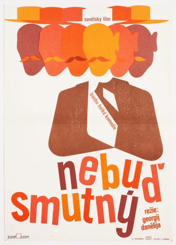 Vintage Poster Art, Don't Grieve, 1970s Movie Poster