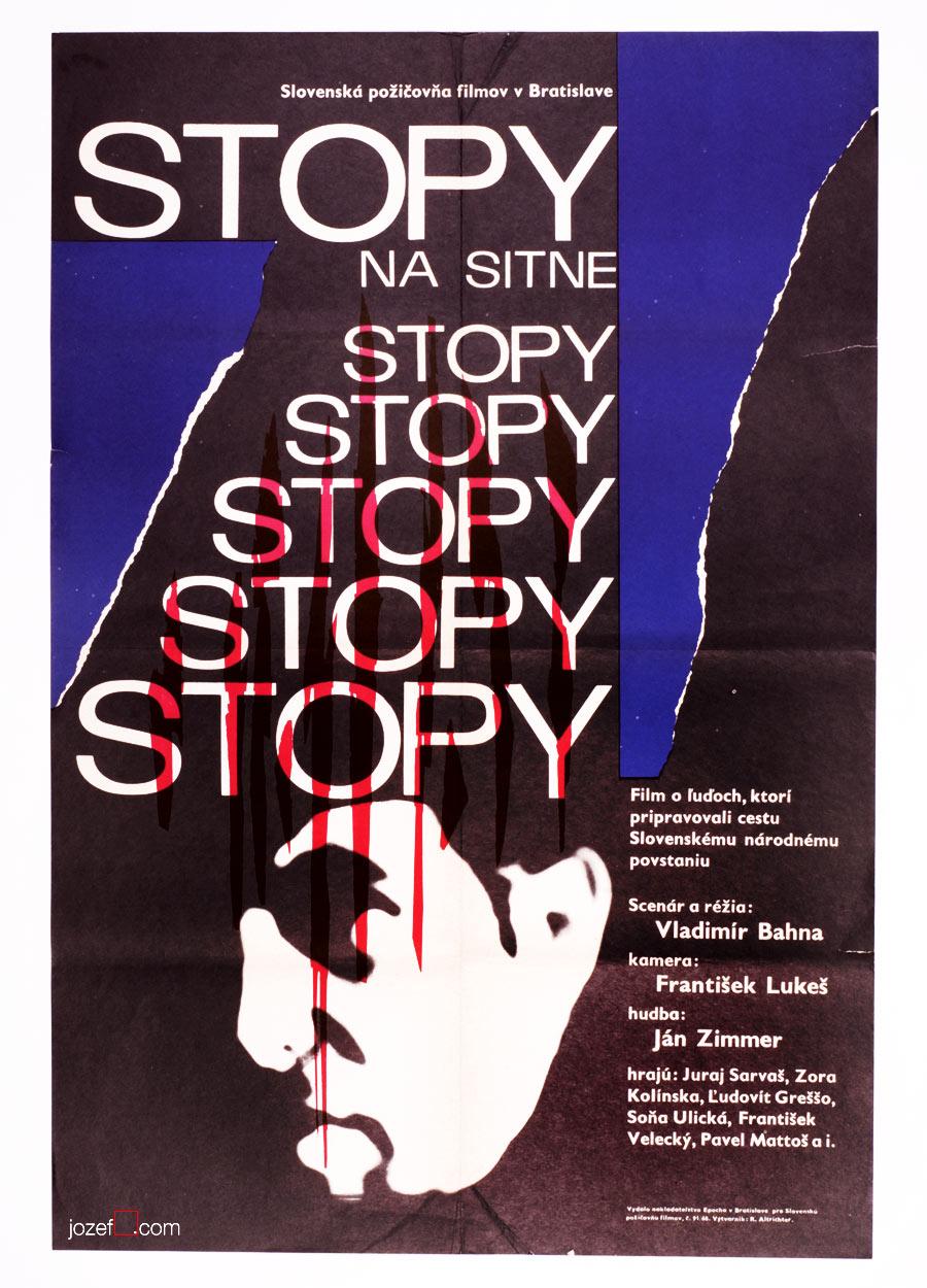 Movie Poster, Unique 1960s Poster Design, Rudolf Altrichter