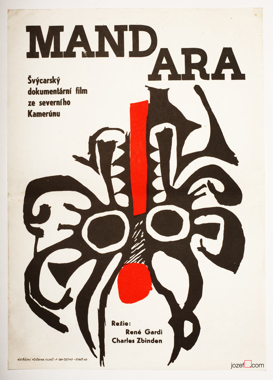 60s poster design for Swiss document