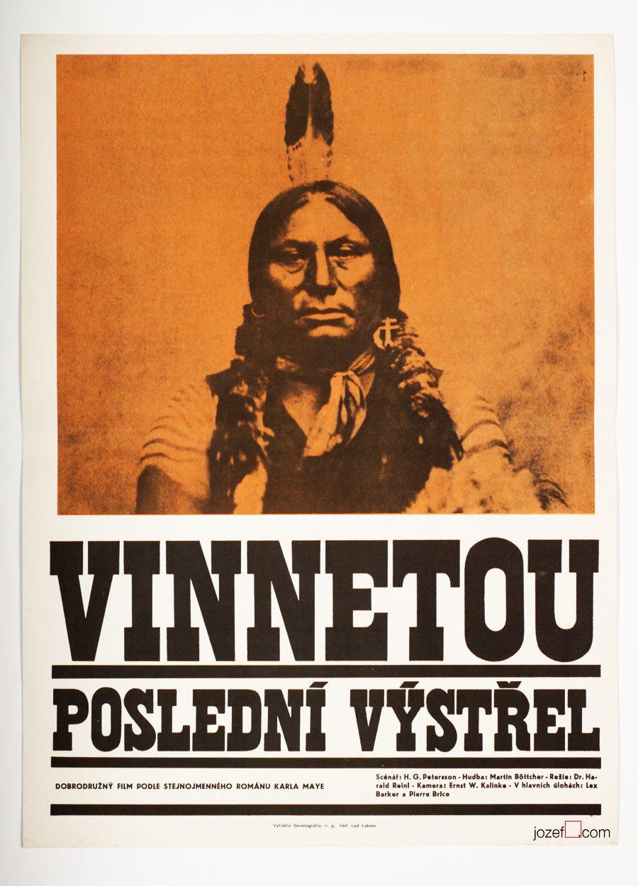 Excellent western movie poster, 60s poster design