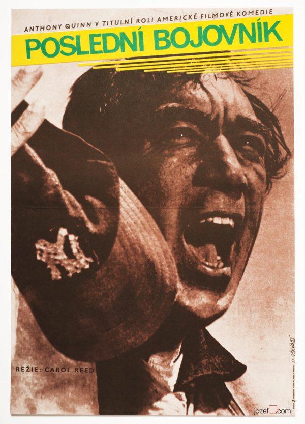 Flap, minimalist movie poster, 70s Movie Poster.