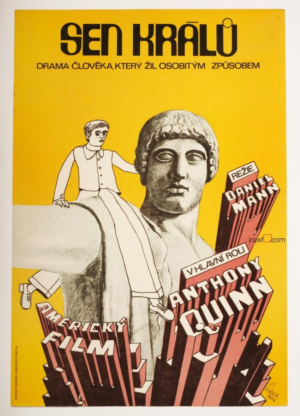 A Dream of Kings, Anthony Quinn Original Movie Poster