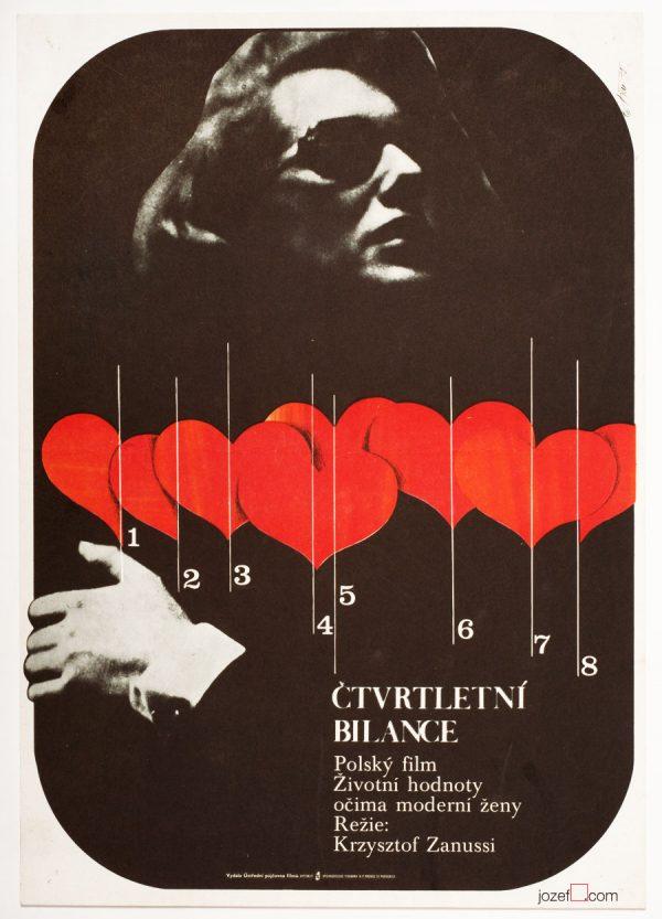 Minimalist Movie Poster, Woman's Decision, Krzysztof Zanussi