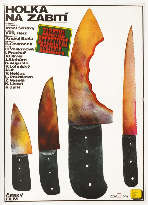 Western Poster, 1970s Movie Poster