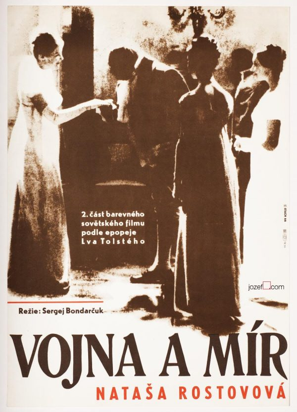 War and Peace Original Movie Poster, 1960s Poster