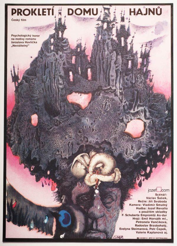 Surreal Poster, Movie Poster Design, Karel Teissig