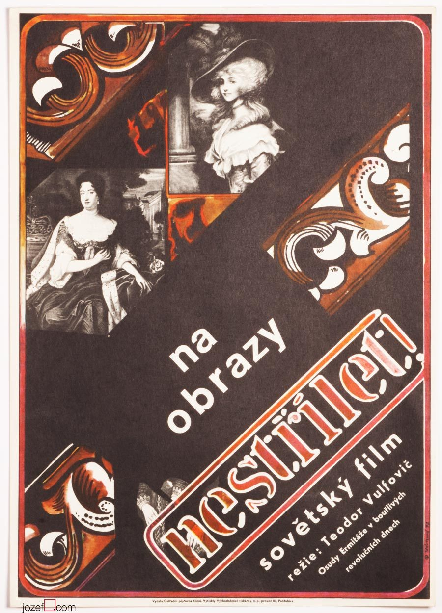 Movie Poster, Envoys of Eternity, Original 1970s Poster Art