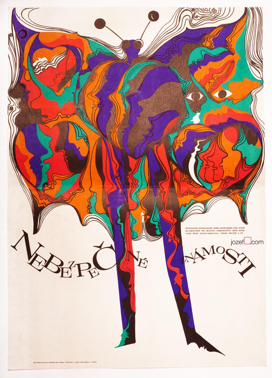 Dangerous Love Affairs, Poster design by Altrichter