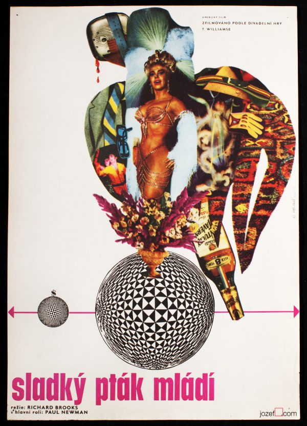 Sweet Bird of Youth, Original Film Poster, 1960s