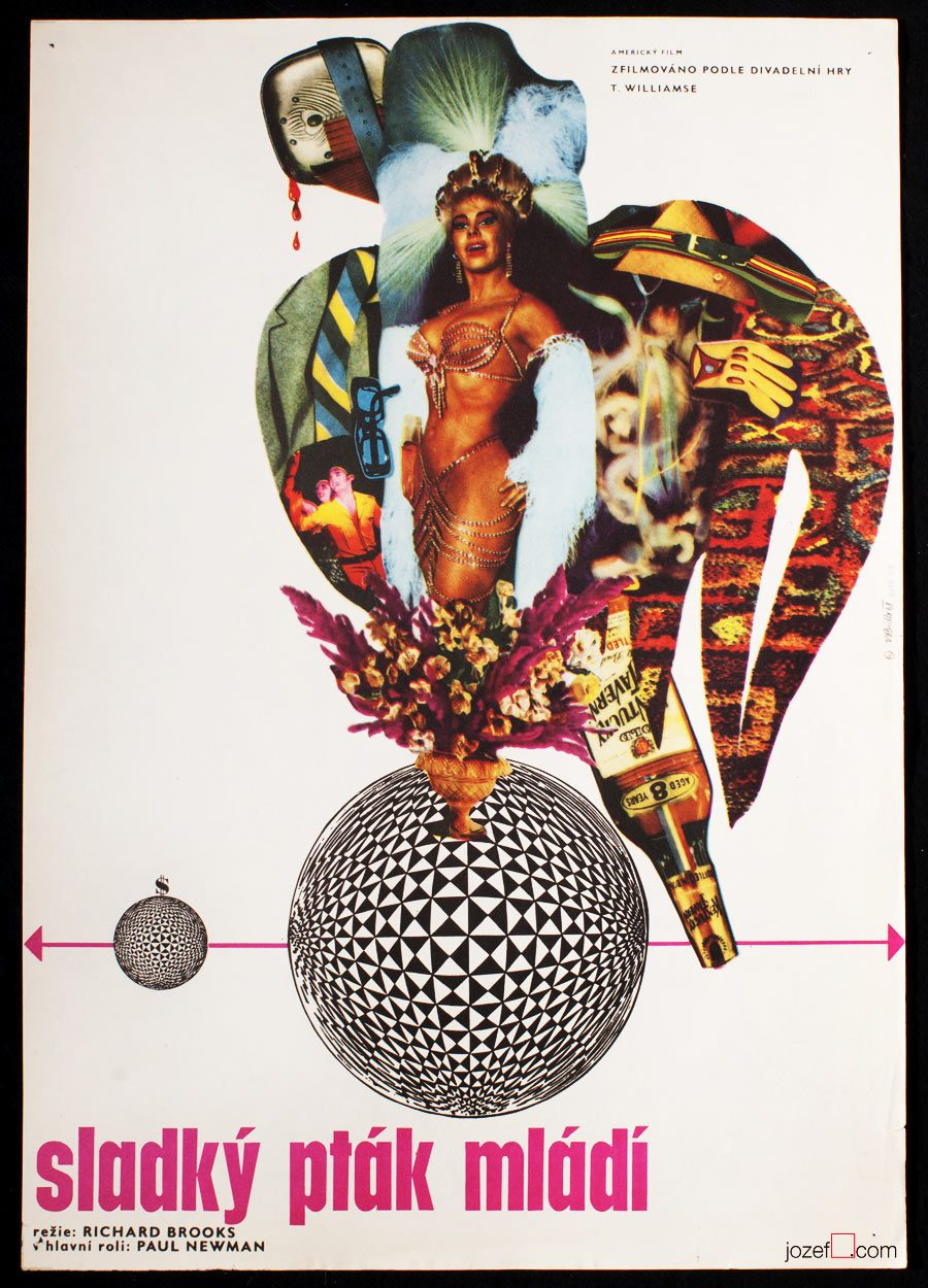 Vladimír Bidlo, Sweet Bird of Youth, Original Film Poster