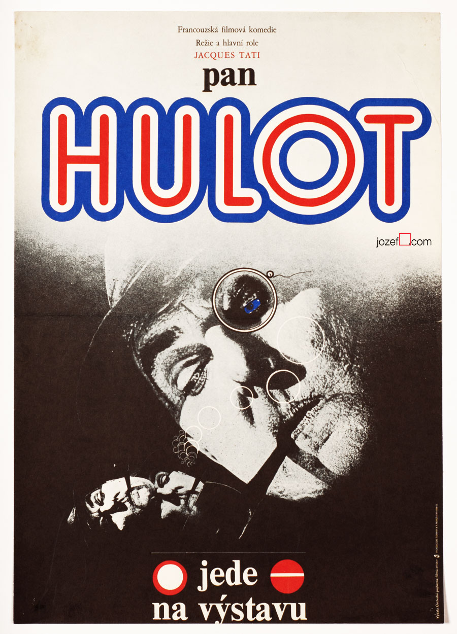 Mr. Hulot's Holiday , Vintage Movie Poster, 1970s Poster
