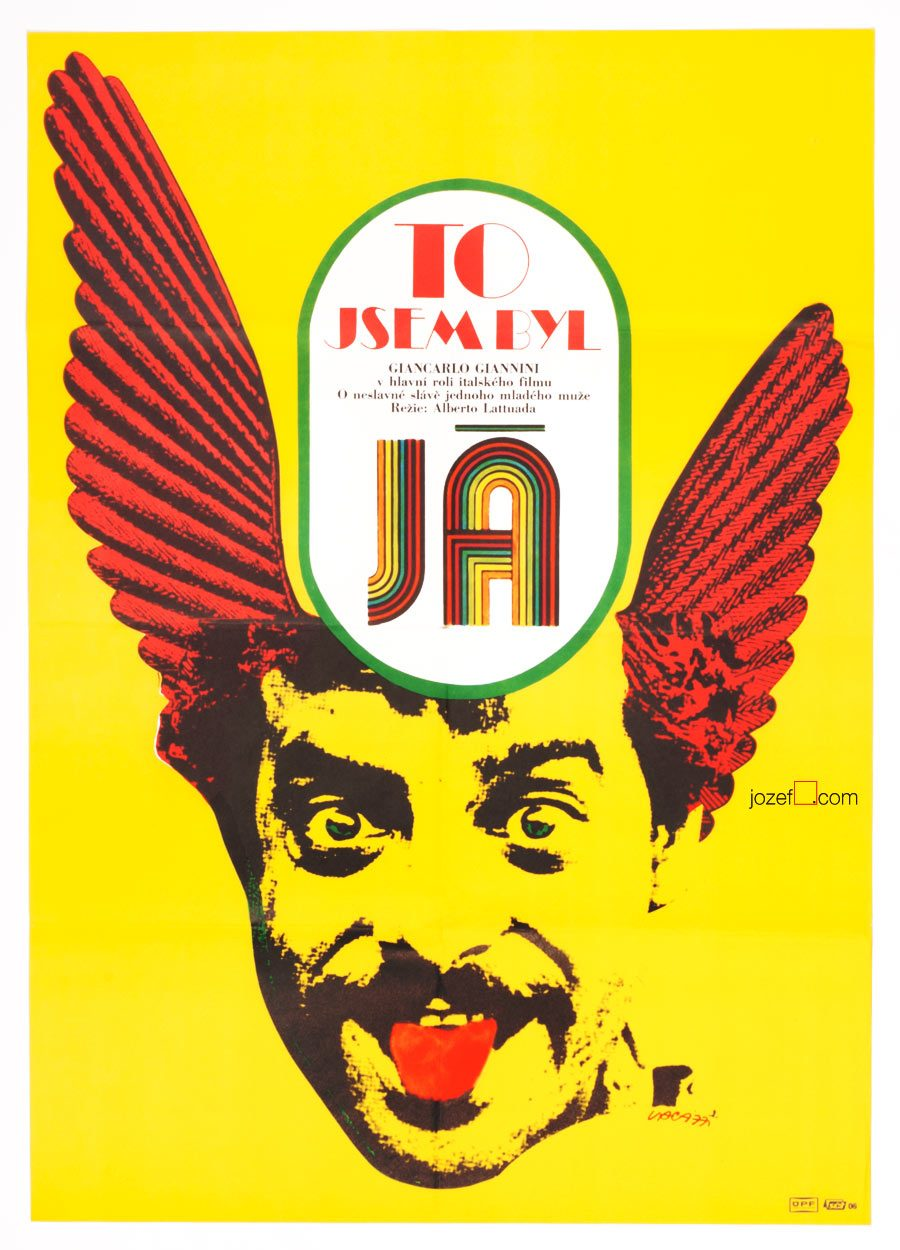 70s poster design - Movie Poster For Italian Comedy 70s Poster