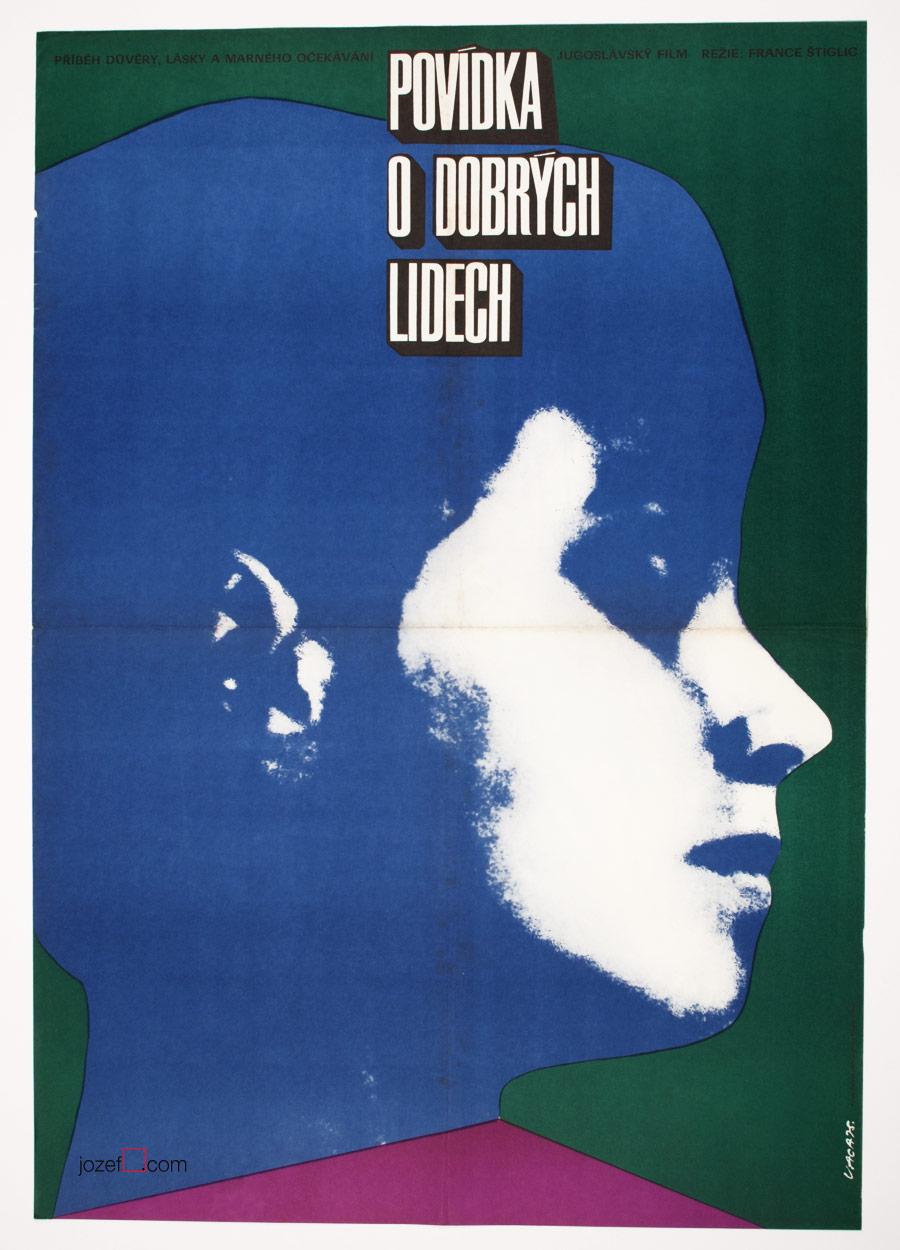 MInimalist movie poster by Karel Vaca