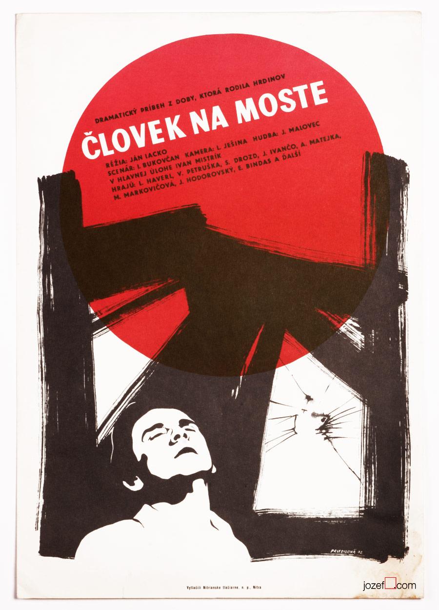 Minimalist movie poster, 1970s poster design