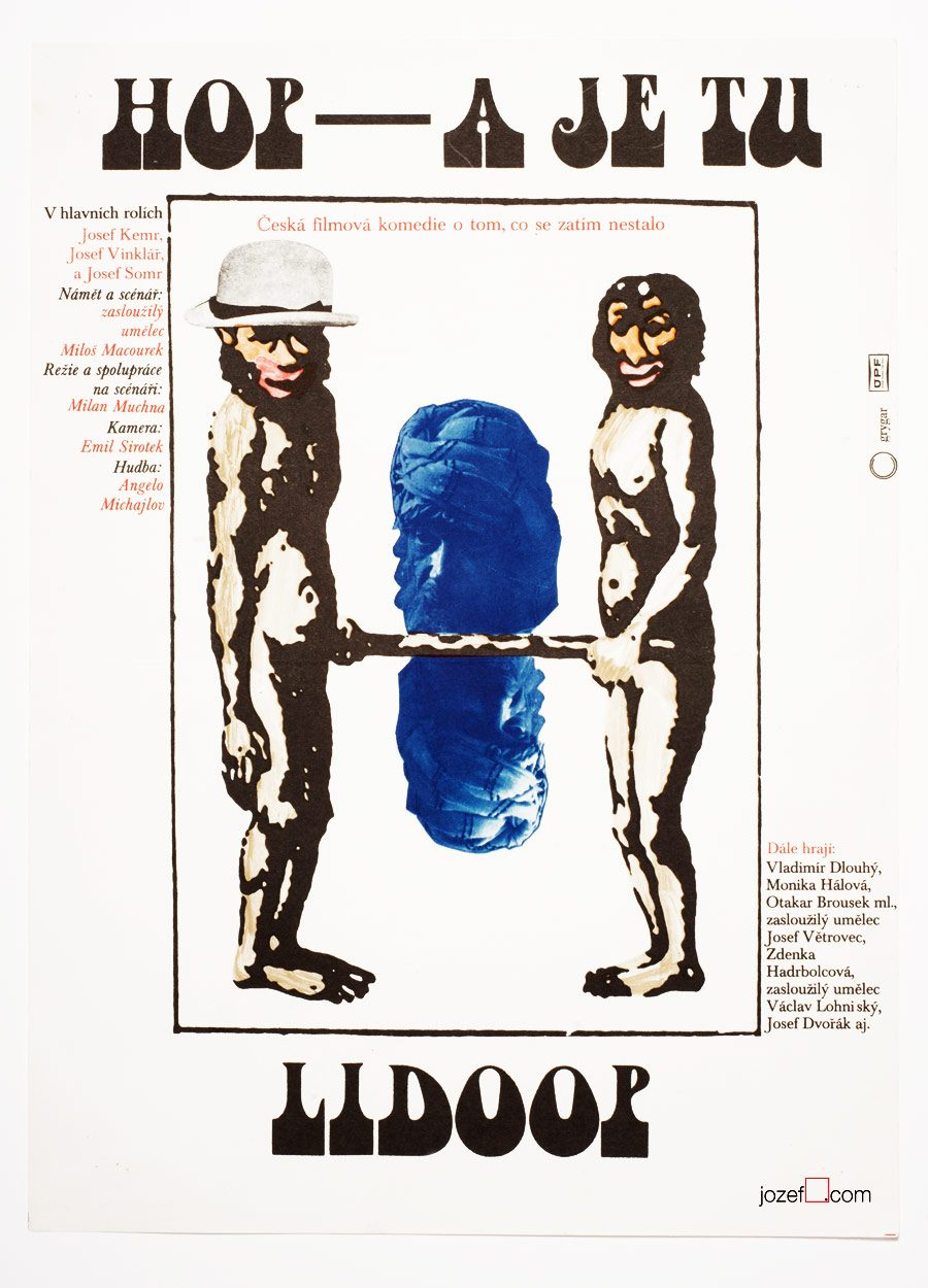 Movie poster, 1970s Poster, Milan Grygar