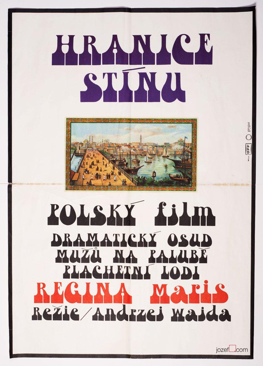 Minimalist Poster, Andrzej Wajda, 70s poster