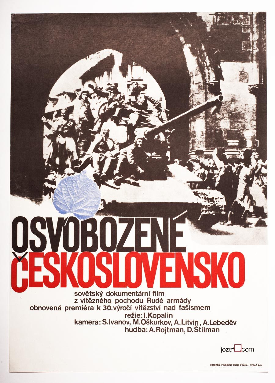 Czechoslovakia Liberated movie Poster, 1970s Poster