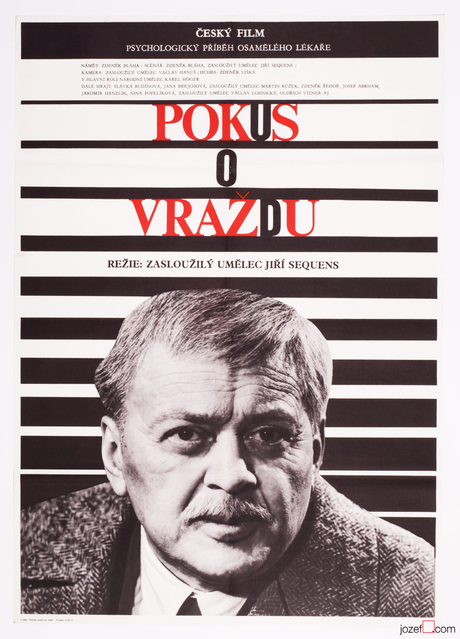 Minimalist poster, Czechoslovak Movie