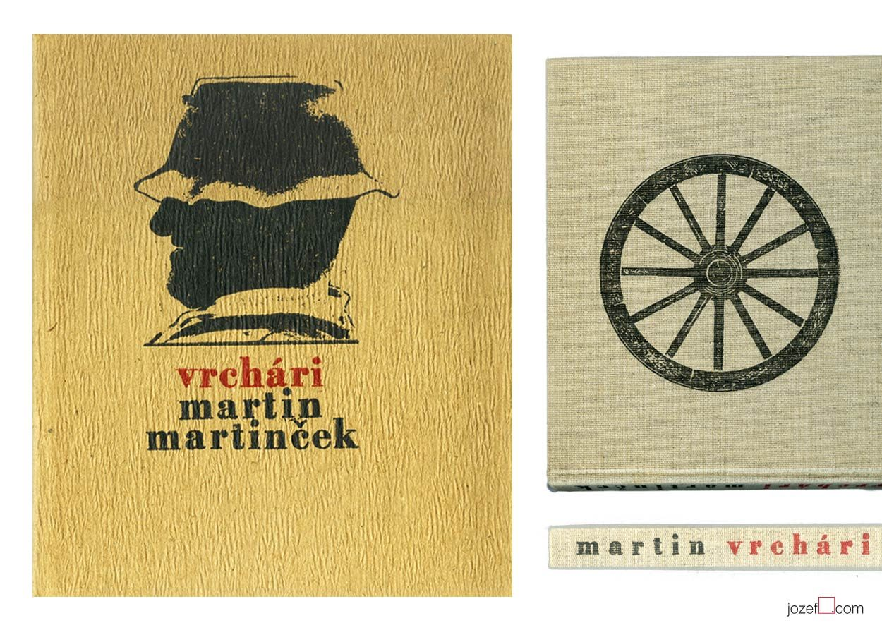 Photography book cover, Martin Martinček, Highlanders