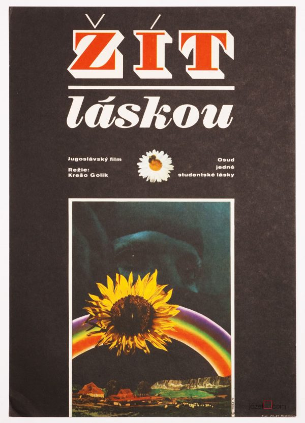 Collage poster, 1970s poster design
