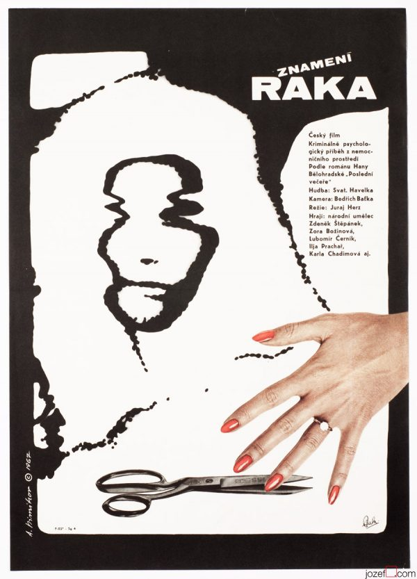 Vintage movie Poster, Antonin Dimitrov