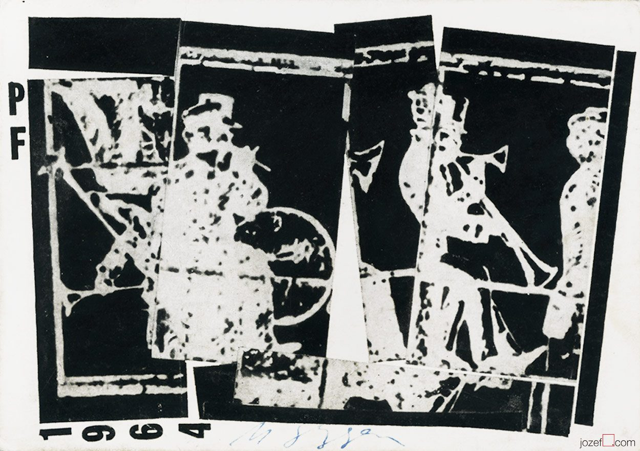 Milan Grygar, PF 1964, New Year's Card