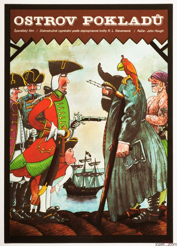 Treasure Island, Kids Movie Poster