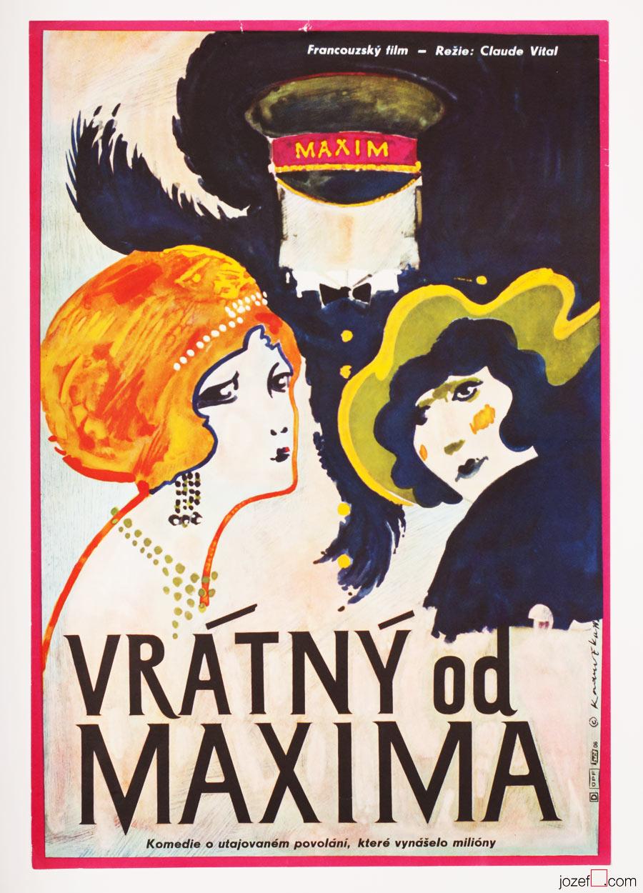Le chasseur de chez Maxim's movie poster