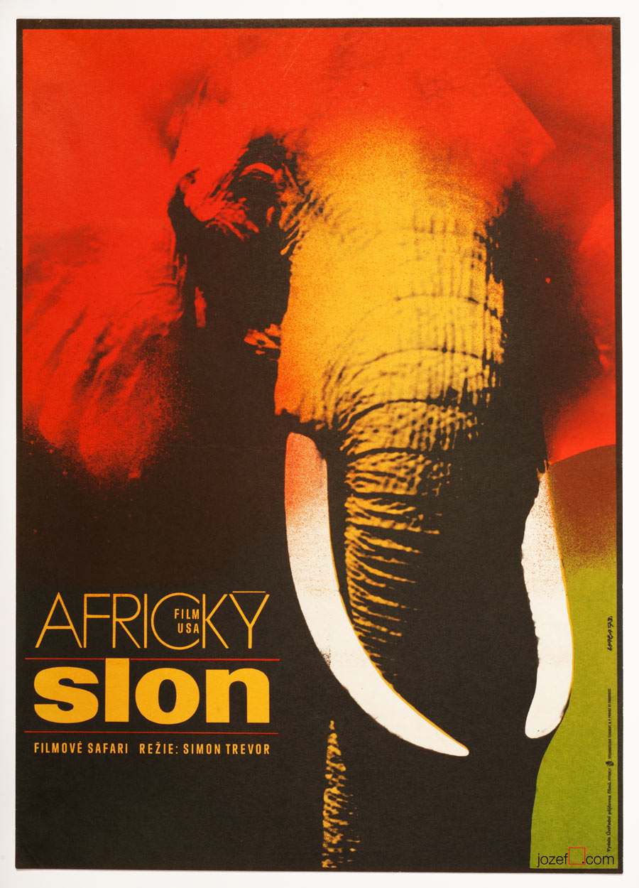 The African Elephant movie poster