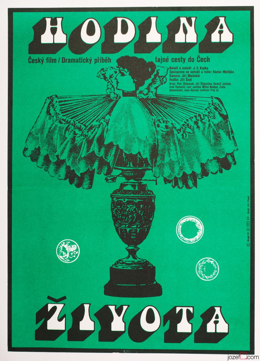 Movie Poster, Milan Grygar, 1980s Cinema Art