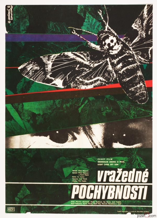 Movie Poster, Murderous Doubts, 70s Poster Collage