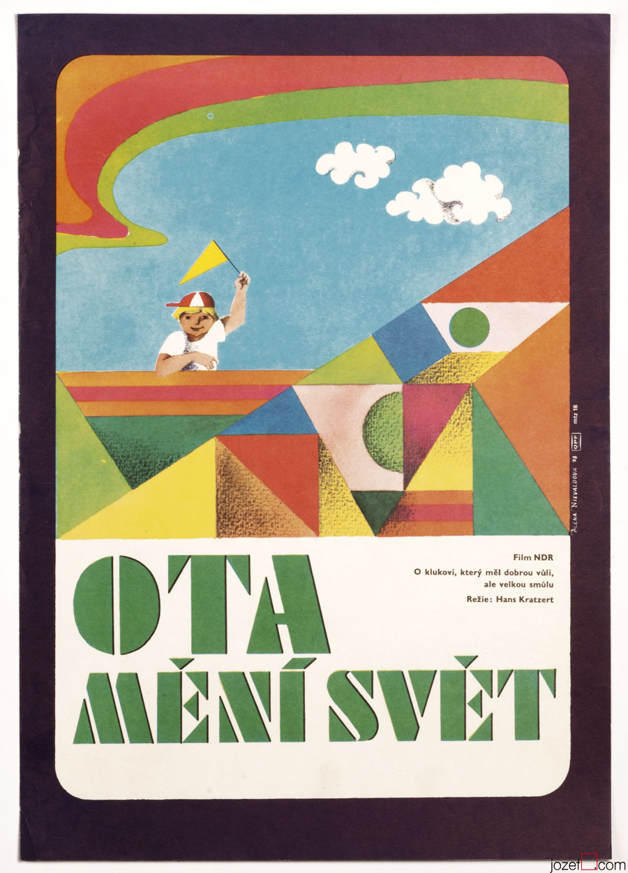 Ottokar, the World Reformer 70s Kids Movie Poster